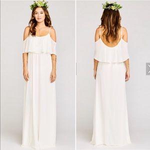 Show Me Your Mumu White Caitlin Maxi Dress
